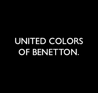 United colors of benetton logo bianco