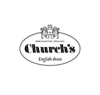 Church's logo nero