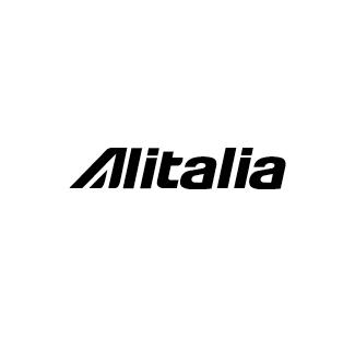 Alitalia logo nero