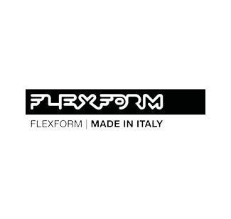 Flexform logo nero