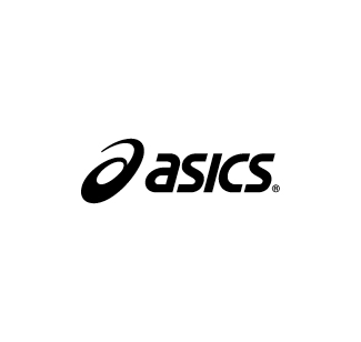 Asics logo nero