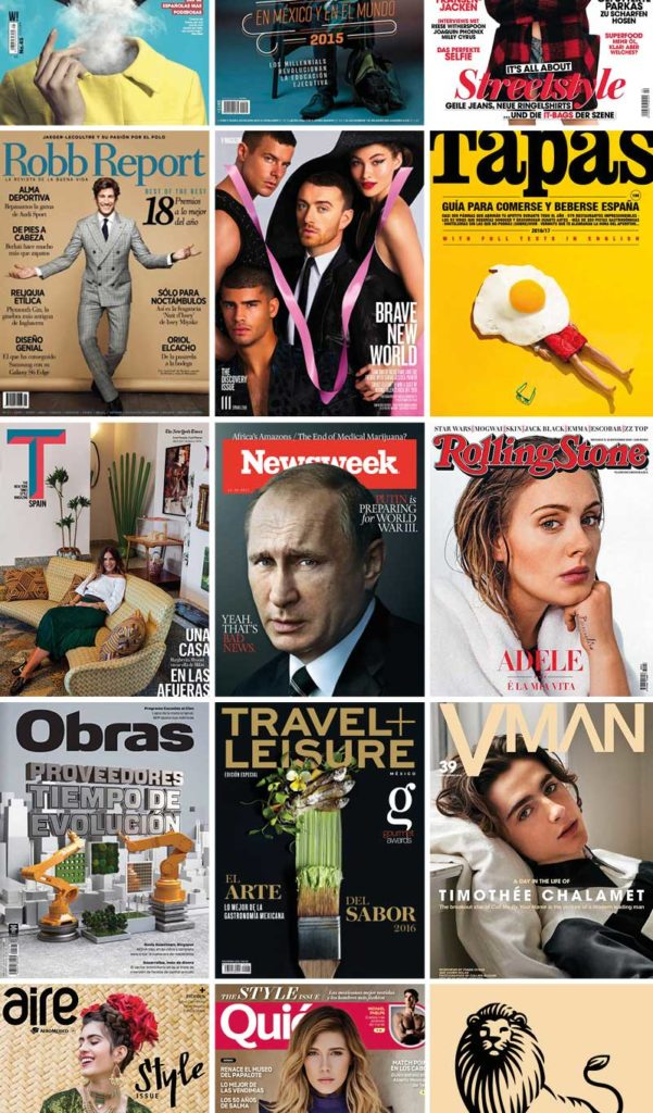 Magazine International Cover Mobile